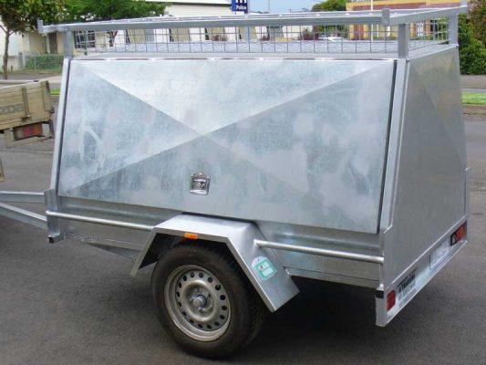 8x5 Postie 7x5 Single Toolbox 8x5 Calf Crate